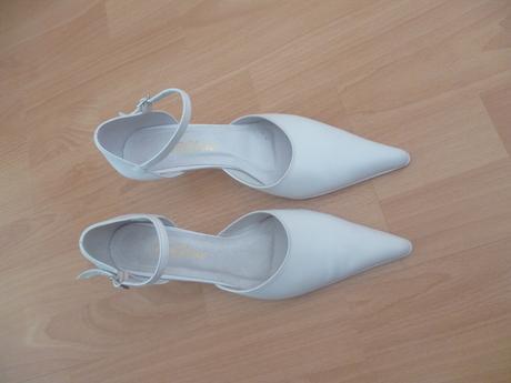 Svadobné topánky - nepoužité, 37