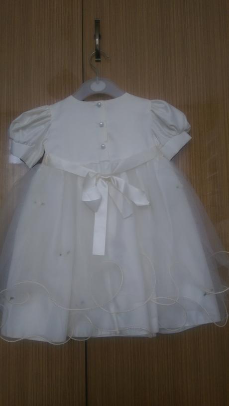 Šaty pro družičku,vel.na 18-24 měsíců s kloboučkem,