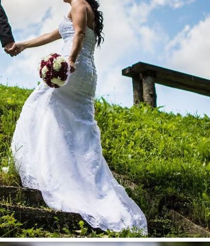 svadobne šaty, 36