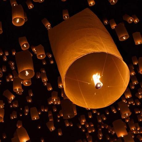 Velký lampion 82x50cm  VÝPRODEJ,