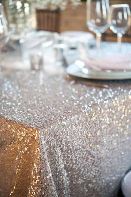 Glitter obrus 3x6 m,