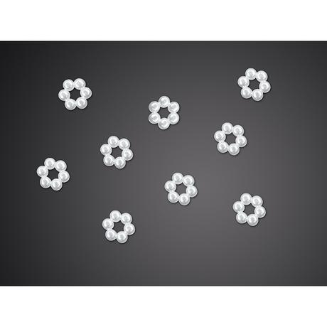 Brožičky - květinky (50ks),