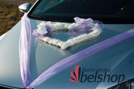 Dekorace na auto na přání ve Vaší barvě,