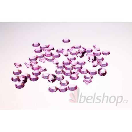 Mini diamanty fialové-lila (60ks),