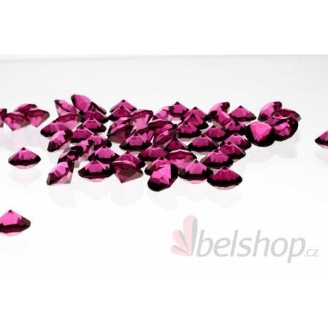 Mini diamanty švestkové (60ks),