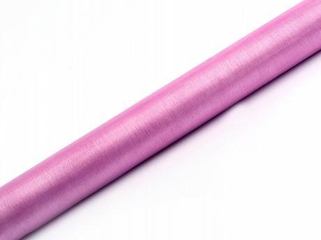 Organza růžovo-fialová 36cm/9m neobšitá,