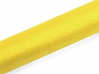 Organza žlutá 16cm/9m žlutá,