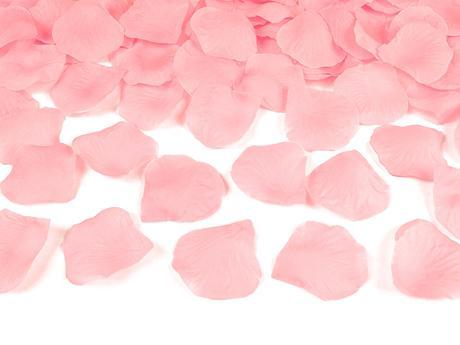 Plátky růží růžové,