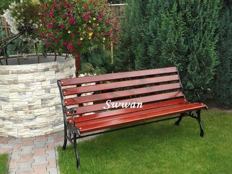 Parková,záhradná lavička,