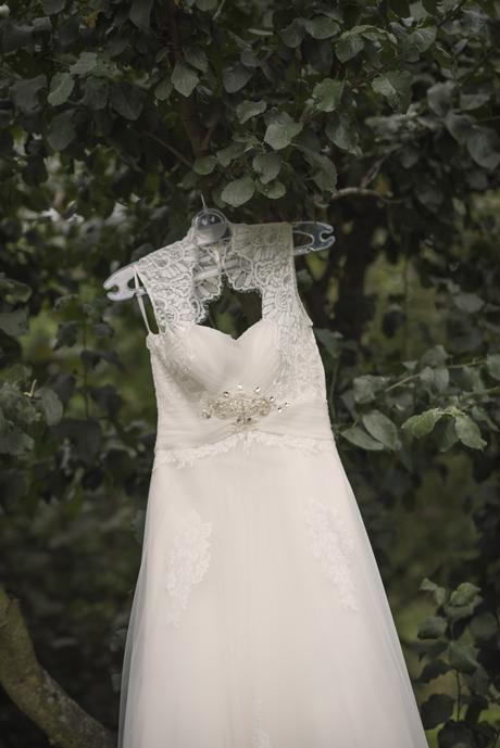 Značkové svatební šaty Gloria de luxe 40-42, 42