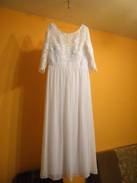 svadobné šaty, cena s poštovným , 42