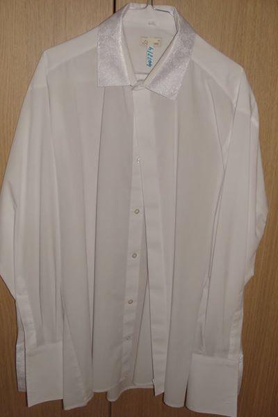 Vesta+košela aj s kravatou a kapesníkom do vrecka, 44