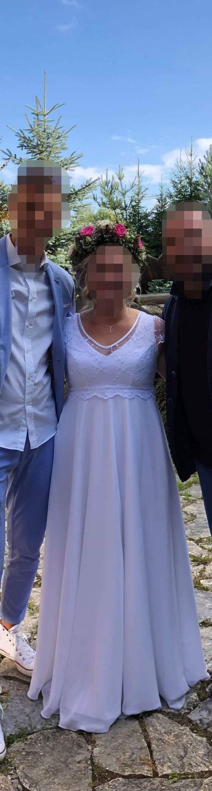 Svadobné šaty, veľkost 40-44, 42