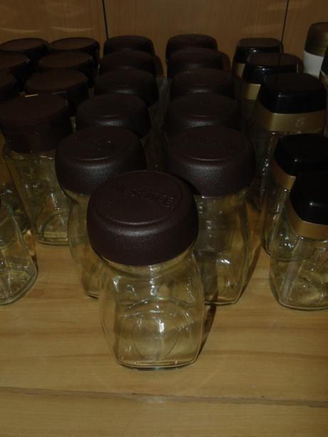 Fľaše/dózy/poháre od kávy ,