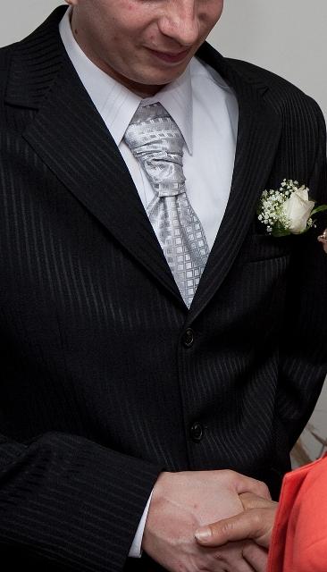 Francúzska kravata + ozdoba do vrecka,