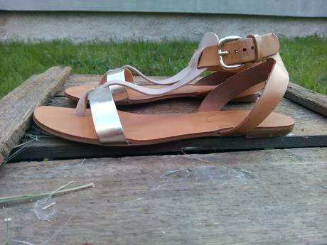 Kožené sandály Baťa, 38