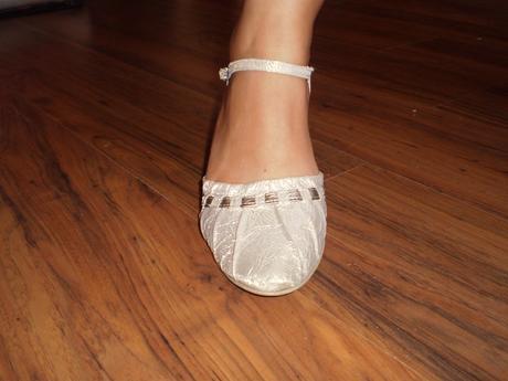 Dámske svadobné topánky, 38