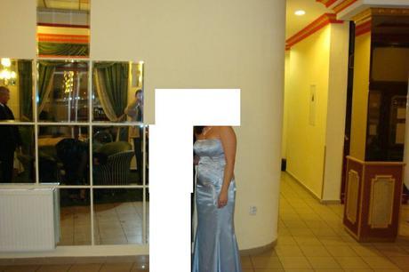 spoločenské šaty (1-krát použité), 42