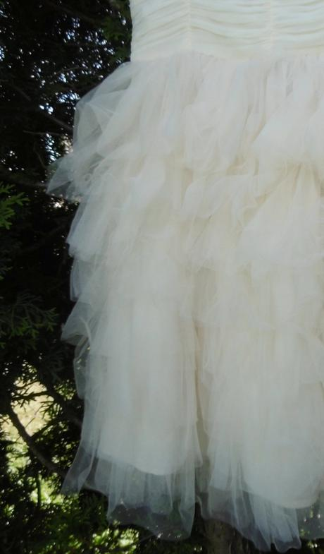 Šaty na ramienka s volánmi zn.H&M, 164