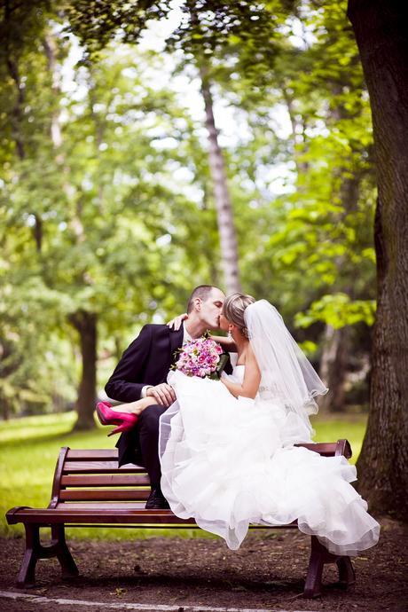 Svadobné šaty - perlová biela 34-36 - 34, 34