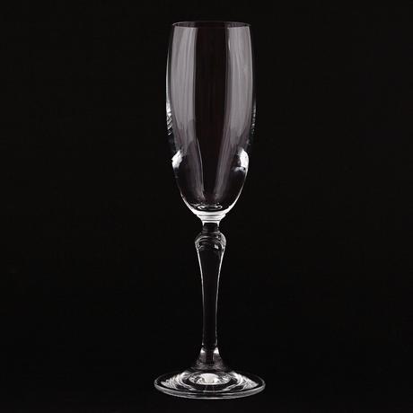 2x pohár na šampanské LUCIA,