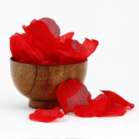 Lupene ruží červené 100 ks,