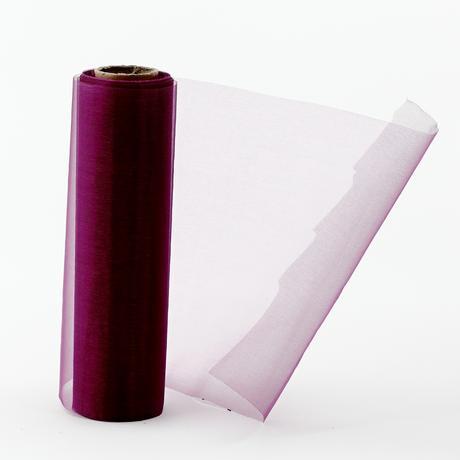 organza 16cm x 9m fialová,