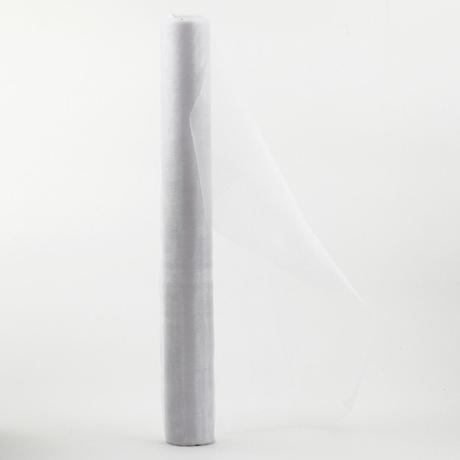 organza 36cm x 9m biela,