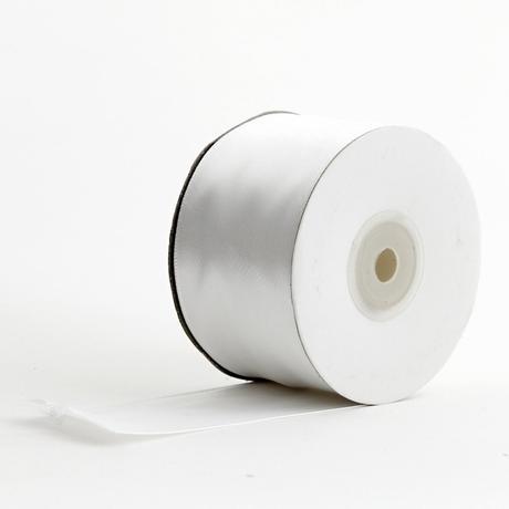 Stužky 50 mm x 25m biela,