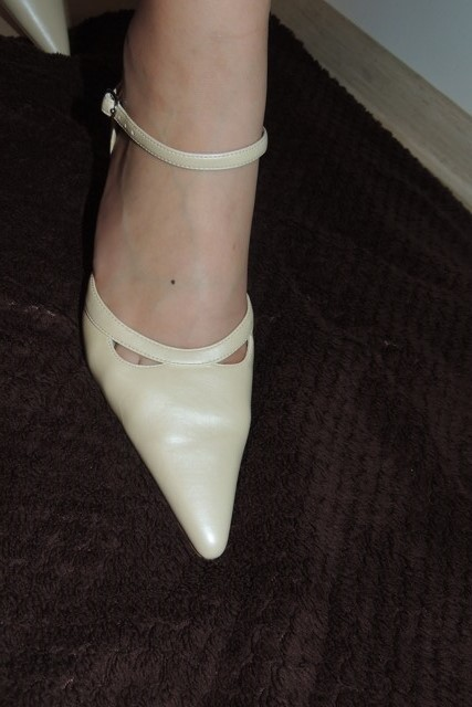 Svadobné topánky Scarlett - nenosené, 40