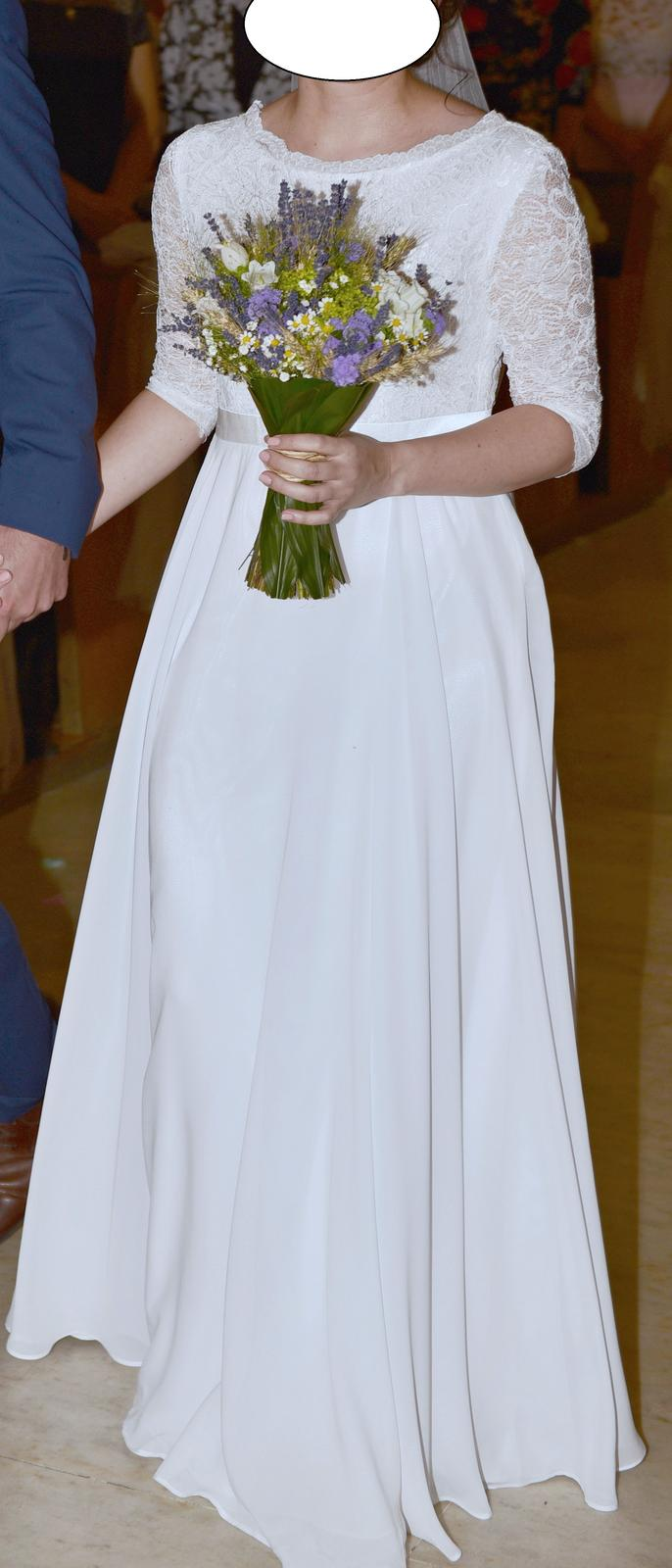 0d3215992b29 Jednoduché svadobné šaty