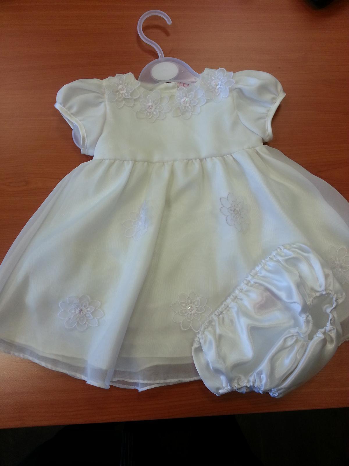 572c2c11d783 Šaty na krst pre dievčatko