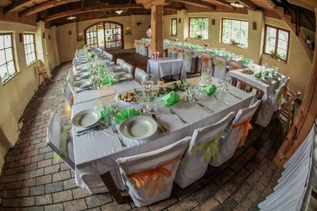 výzdoba svatební tabule,
