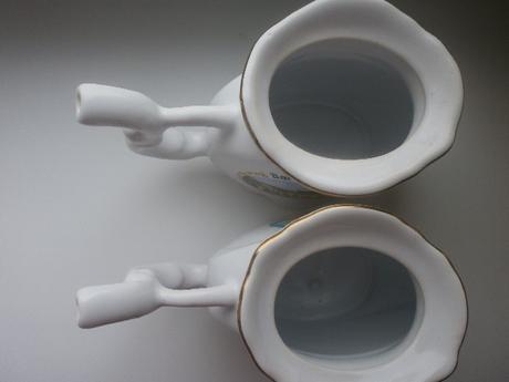 2 šálky z Bardejovských kúpelov,