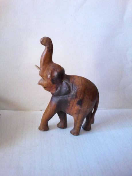 Dreveny slon -napr.do tomboly,