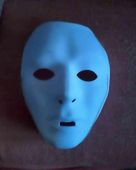 maska na gumicku, do fotokoutku,