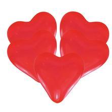 balóny srdcia stredné 27,50 cm 25 ks,