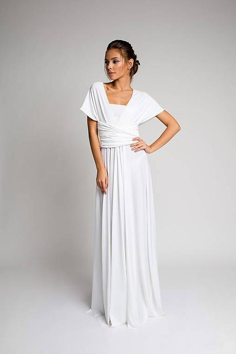 e9019a42ae33 Svadobné spoločenské šaty - biele