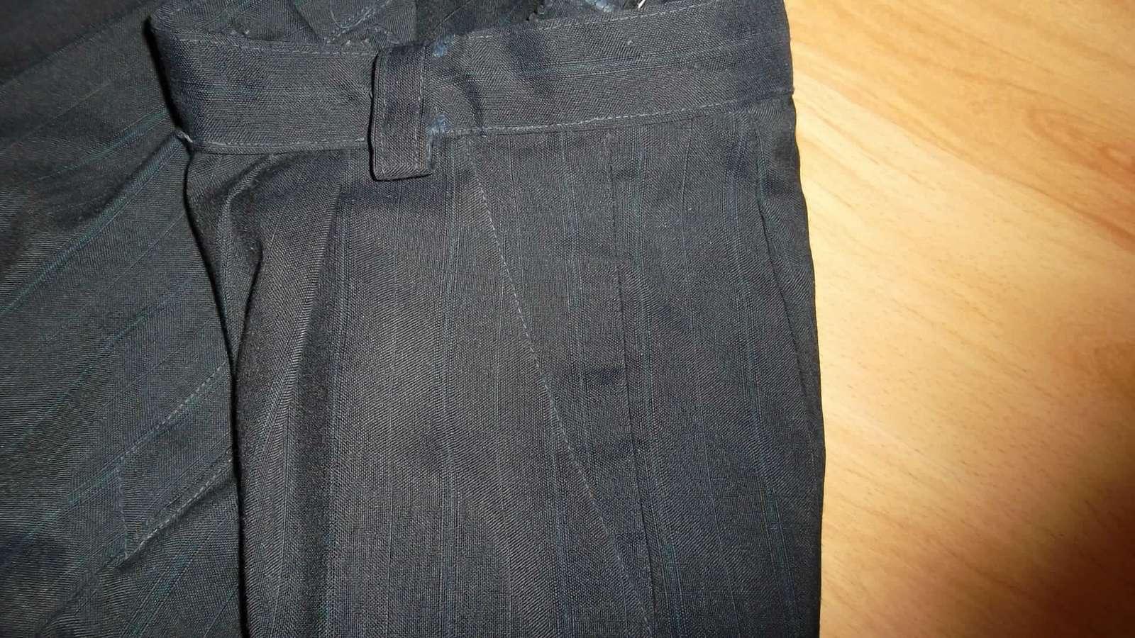 3eb39480735b Dámske elegantné čierne nohavice s pukmi-dole úzke