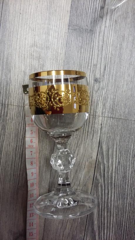 Malé poháre na kávu, štamperlíky - sety, stojan ,