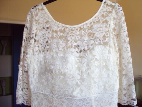 Čipkované šaty M&S, 44