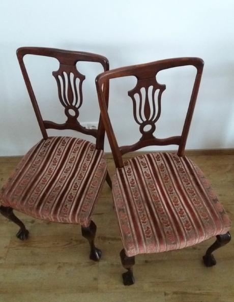 Dřevěné židle 4 kusy,