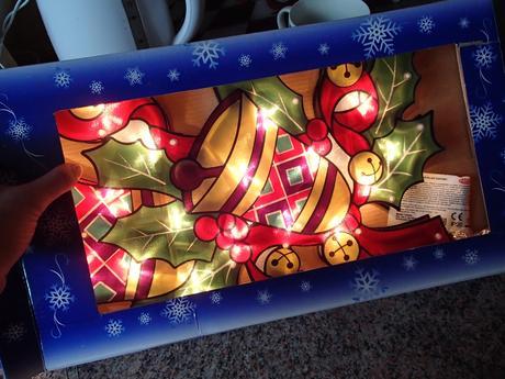 Vianočná závesná dekorácie zvončeky,