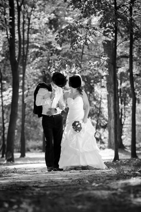 Biele svadobné šaty-cena dohodou 36-38, 38
