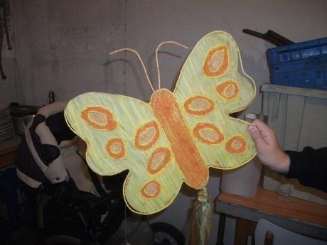 dekoracia motyl,