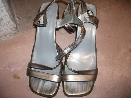 medene sandaliky, 39