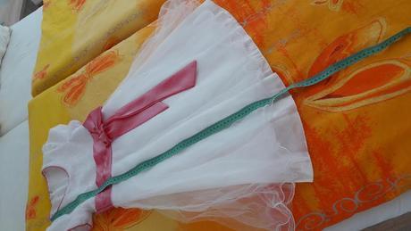 Princeznickovske saty na svadbu pre malu princeznu, 122