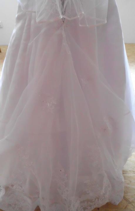 Svadobné šaty veľ.36-40, 36