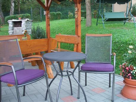 záhradný nábytok set,