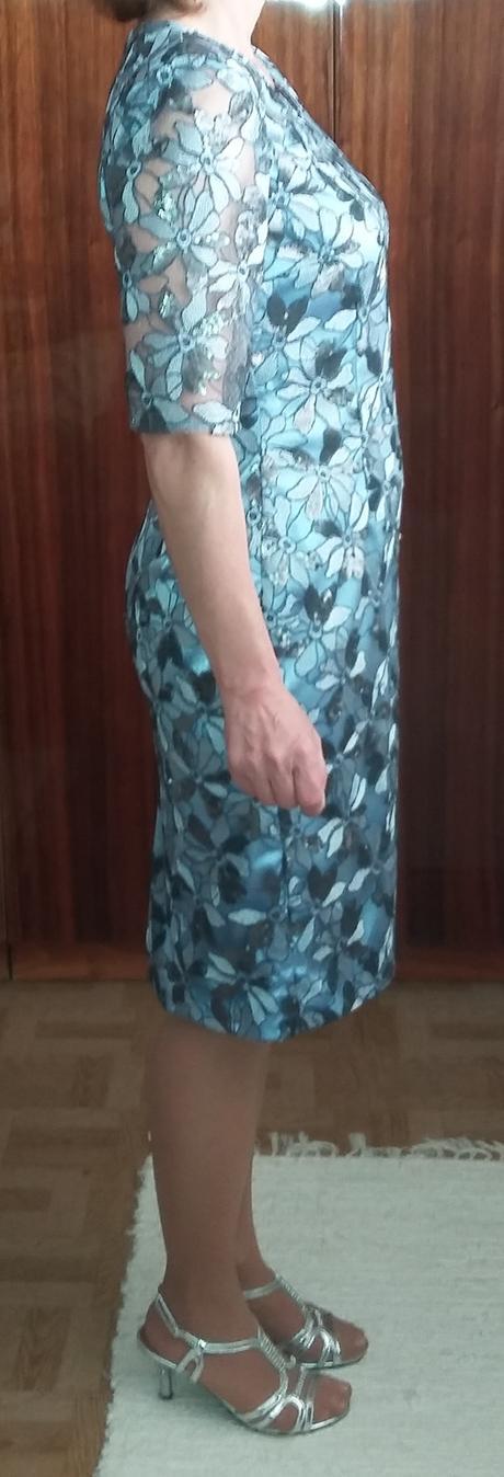 Šaty a sako vhodné i pre svadobnú mamu, 38